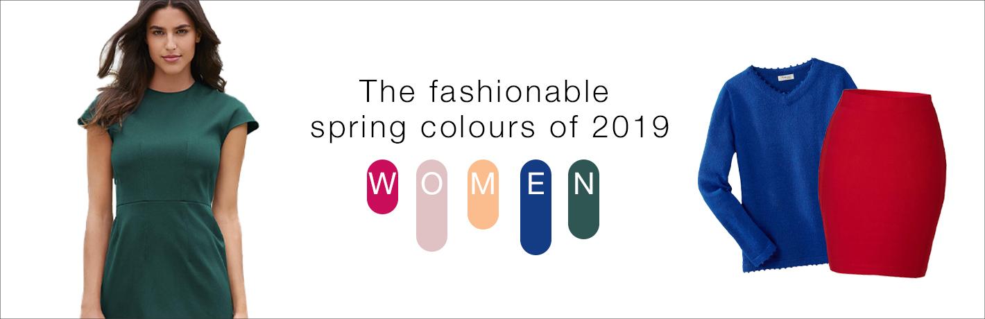 Diese Frühlings-Farben sind jetzt angesagt.
