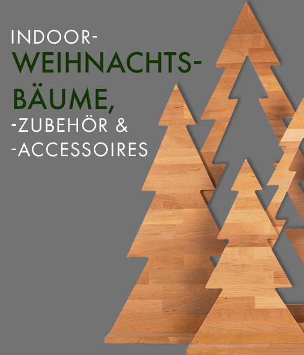 Indoor-Weihnachtsbäume, - zubehör und Accessoires