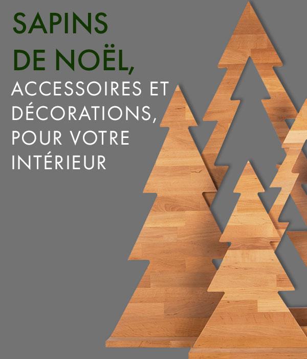 Sapins de Noël – accessoires et décorations pour votre intérieur