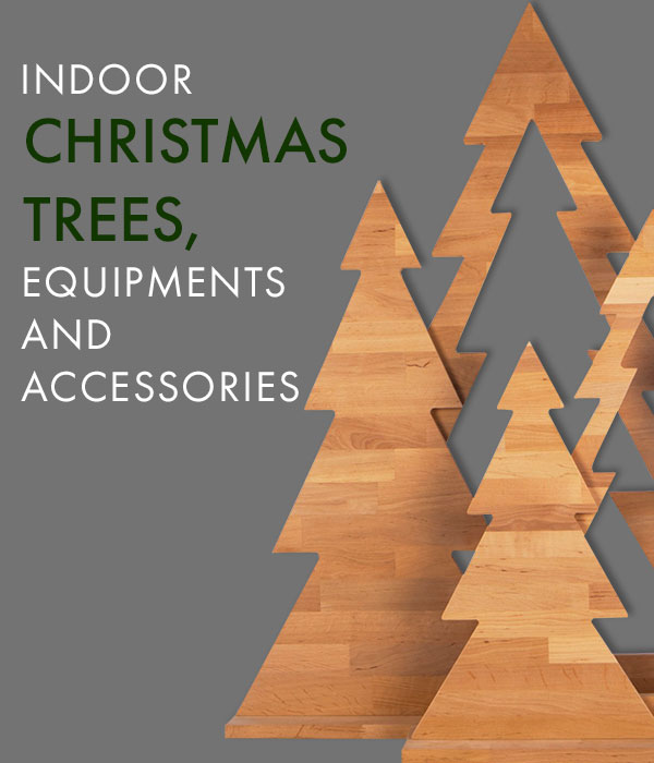 Indoor christmastrees - equipment and accessories