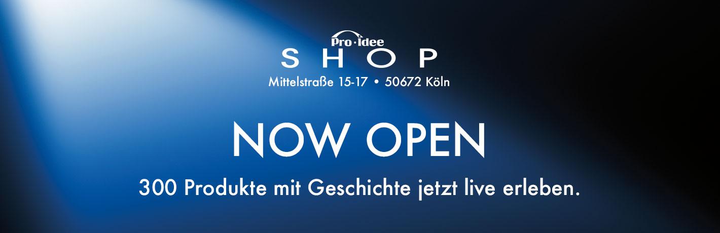 Pro-Idee Shop in Köln - Neueröffnung