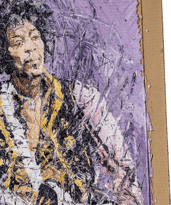 Oliver Jordan – Jimi Hendrix